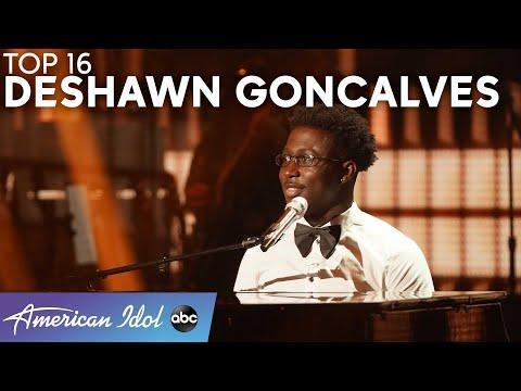 """<p> Talk about a truly <em>angelic</em> voice. The judges couldn't help but shower Deshawn with praise after seeing him audition with """"Everything Must Change"""" by <strong>Nina Simone</strong>. His subsequent performances have been equally impressive, particularly when he put his own spin on <strong>Judy Garland</strong>'s """"Over the Rainbow"""" classic. </p><p><a href=""""https://www.youtube.com/watch?v=kyjZ3Fsc6jQ"""" rel=""""nofollow noopener"""" target=""""_blank"""" data-ylk=""""slk:See the original post on Youtube"""" class=""""link rapid-noclick-resp"""">See the original post on Youtube</a></p>"""