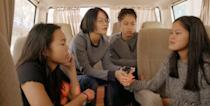 """<p>Through 23andMe, three American teenagers, each adopted from China, discover that they are blood-related cousins. <strong>Found </strong>follows Chloe, Sadie, and Lily as they meet and journey to China in hopes of finding their birth parents. </p> <p><strong>When it's available: </strong><a href=""""https://www.netflix.com/title/81476857"""" class=""""link rapid-noclick-resp"""" rel=""""nofollow noopener"""" target=""""_blank"""" data-ylk=""""slk:Oct. 20"""">Oct. 20</a></p>"""