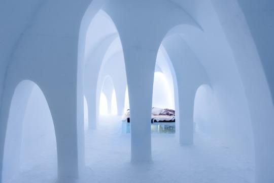 "<p>By AnnaKatrin Kraus and Hans Aescht. <i>(Photo: <a href=""http://www.icehotel.com/art-design/icehotel-26-open-first-photos/"" rel=""nofollow noopener"" target=""_blank"" data-ylk=""slk:Asaf Kliger/ICEHOTEL"" class=""link rapid-noclick-resp"">Asaf Kliger/ICEHOTEL</a>)</i></p>"