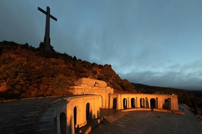 The Valley of the Fallen monument is one of Europe's largest mass graves (AFP Photo/Emilio Naranjo)
