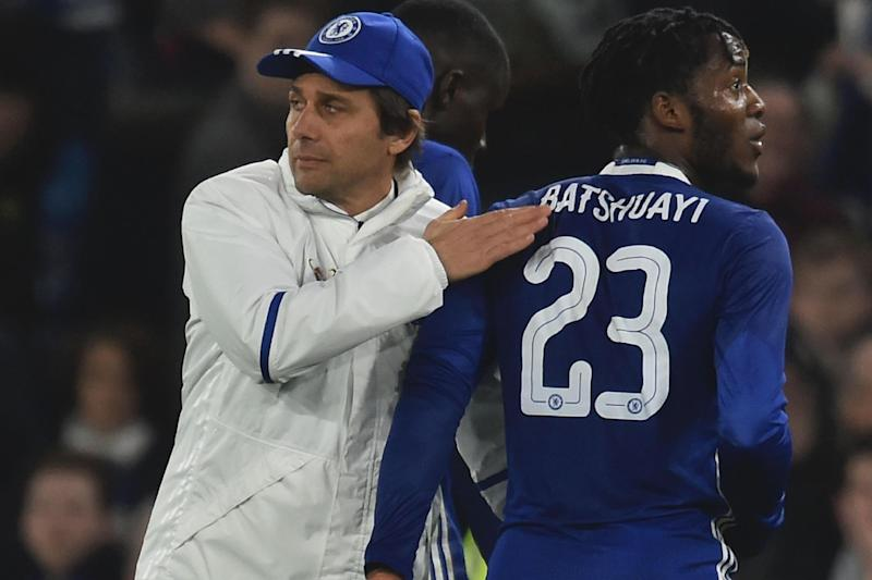 Batshuayi has struggled to impress Conte this season: AFP/Getty Images