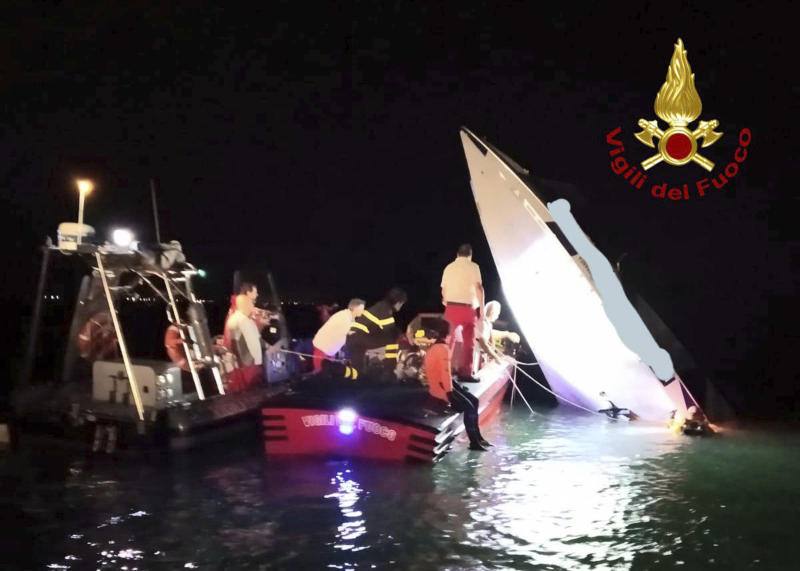Italy Venice Boat Accident