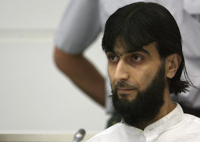 A picture taken on on July 15, 2008 shows Rafik Y during his trial in Stuttgart, southern Germany (AFP Photo/Marijan Murat)