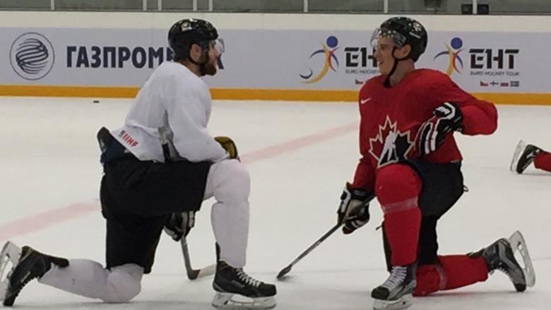 Canadian players in Russia are looking to form nucleus of Team Canada