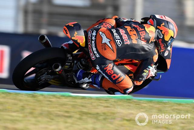 """Can Oncu, KTM Ajo <span class=""""copyright"""">Gold and Goose / Motorsport Images</span>"""