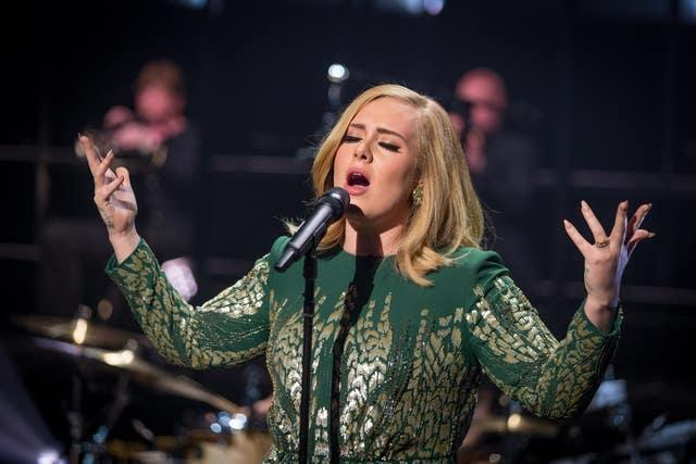 Adele at the BBC