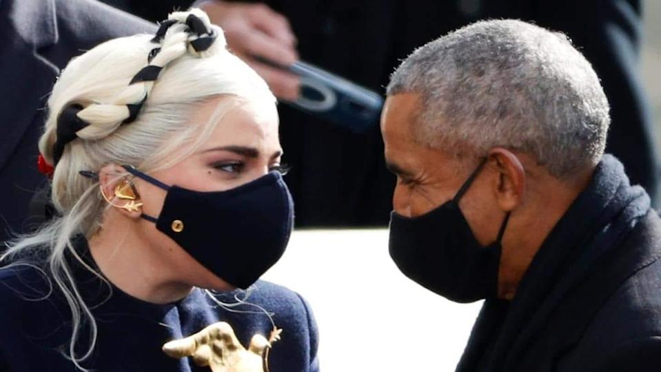 Lady Gaga, Barack Obama