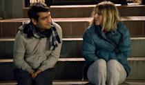 """<p>Real-life couple Kumail Nanjiani and Emily V. Gordon mined their unusual love story—which involves an unexpected coma and inter-cultural family tension—to fuel this funny, and deeply felt romance. Nanjiani plays himself, and Zoe Kazan is charming as a version of Gordon.</p><p><a class=""""link rapid-noclick-resp"""" href=""""https://www.amazon.com/Big-Sick-Kumail-Nanjiani/dp/B07193L7RD?tag=syn-yahoo-20&ascsubtag=%5Bartid%7C10072.g.33383086%5Bsrc%7Cyahoo-us"""" rel=""""nofollow noopener"""" target=""""_blank"""" data-ylk=""""slk:Watch Now"""">Watch Now</a></p>"""