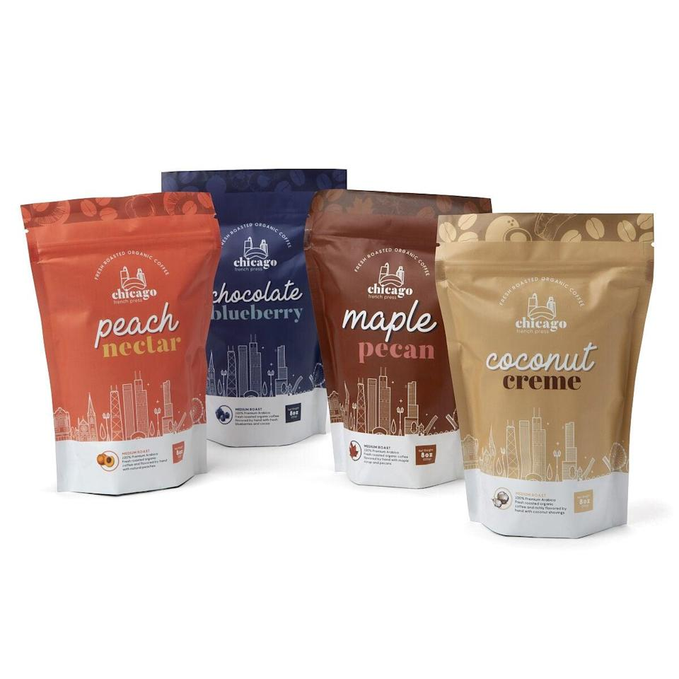 <p>If they're coffee drinkers, they might be up for trying this <span>Flavored Coffee Duo</span> ($30).</p>