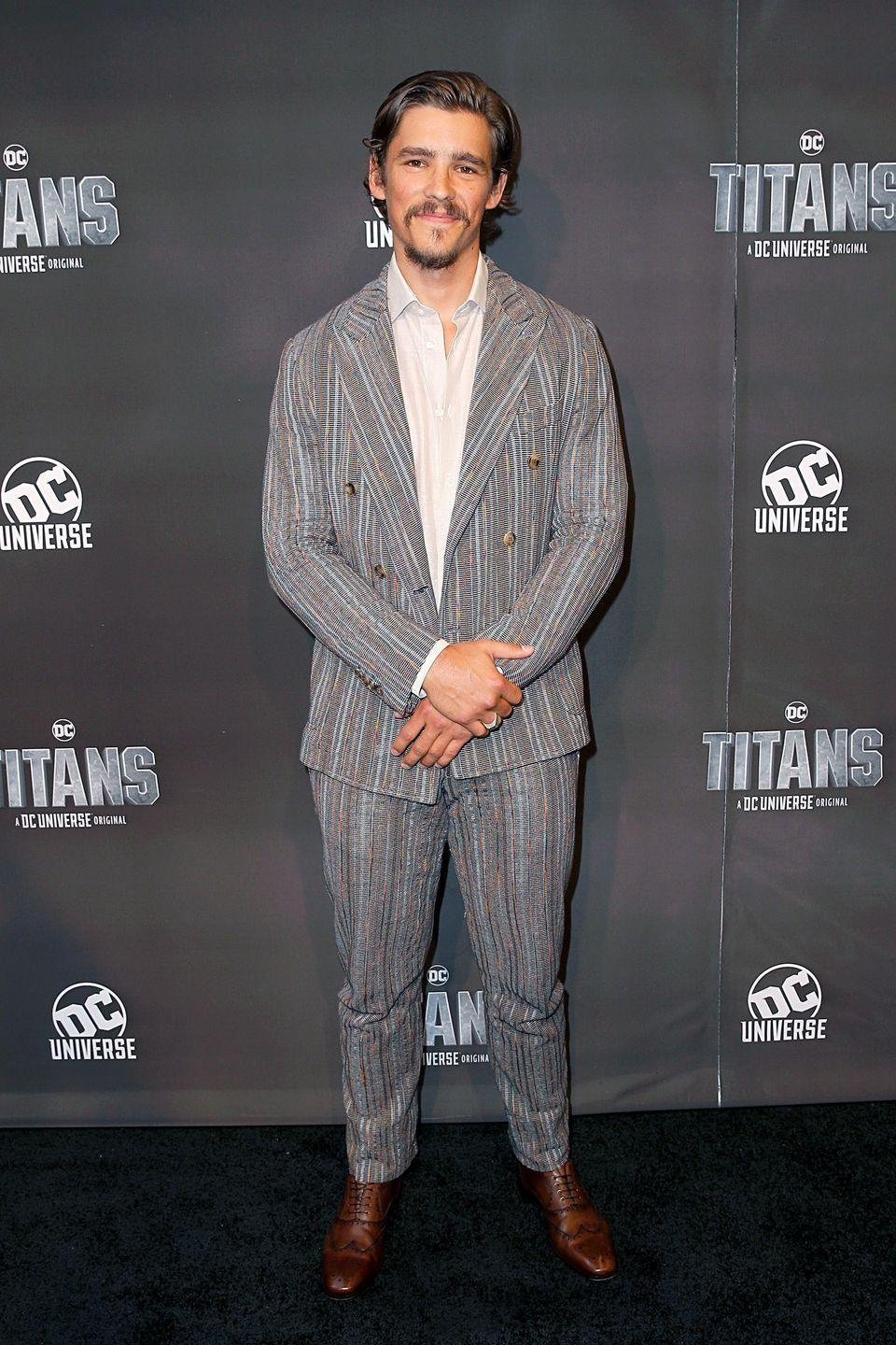 <p>Thwaites' most recently recognized for his roles in <em>Pirates of the Caribbean: Dead Men Tell No Tales</em> and <em>Titans</em>, but the Cairns, Queensland native's been making a splash in Australian film and TV for years. </p>