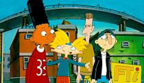 """<p><b>Paramount+'s Description:</b> """"Nickelodeon's animated series comes to the big screen as fourth-grader Arnold, best buddy Gerald and the rest of the gang face an industrialist with plans to bring the wrecking ball down on Arnold's neighborhood.""""</p> <p><a href=""""https://www.paramountplus.com/movies/hey-arnold-the-movie/BGUOTNjE4Zi5RLBwOqU76VZ7yd772CU5/"""" class=""""link rapid-noclick-resp"""" rel=""""nofollow noopener"""" target=""""_blank"""" data-ylk=""""slk:Watch Hey Arnold! The Movie on Paramount+ here!"""">Watch <strong>Hey Arnold! The Movie</strong> on Paramount+ here!</a></p>"""