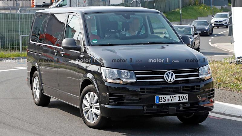Volkswagen Transporter T7 Latest Test Mule