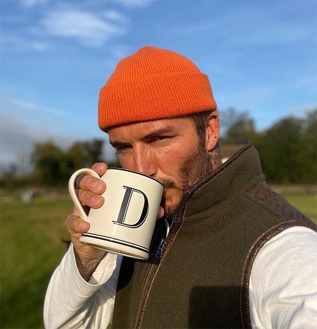 David Beckham sends fans wild with photo from Cotswolds garden – and they all love this one detail