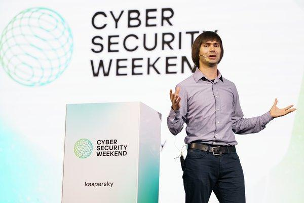 Yury Namestnikov, Head of Global Research and Analysis Team (GReAT) Russia at Kaspersky.