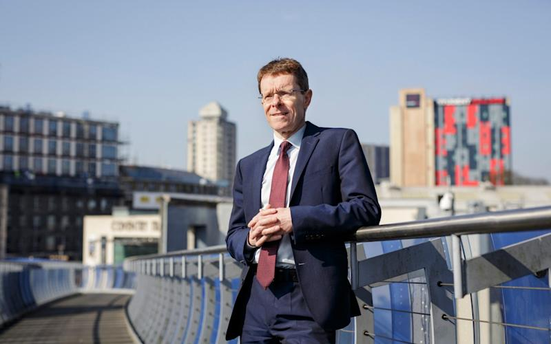 Andy Street, the former boss of John Lewis and Conservative candidate in the West Midlands mayoral elections - Credit: Andrew Fox for The Telegraph