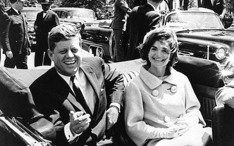 <span>US President John F. Kennedy (L) and First Lady Jacqueline Kennedy in 1961</span> <span>Credit: JFK PRESIDENTIAL LIBRARY </span>