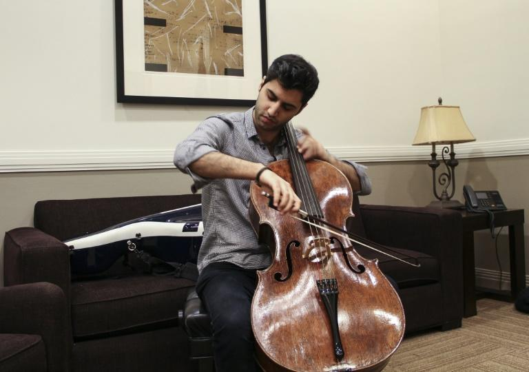 Austrian-born Soltani, whose parents are Iranian, is a rising star noted for his charistmatic stage presence and technical mastery who is playing with some of the world's leading orchestras in the 2018-2019 season