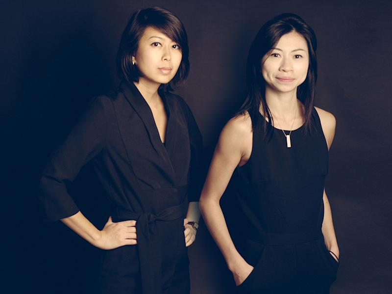 A portrait of the founders Jessica Wong and Pamela Ting. (PHOTO: Scene Shang)