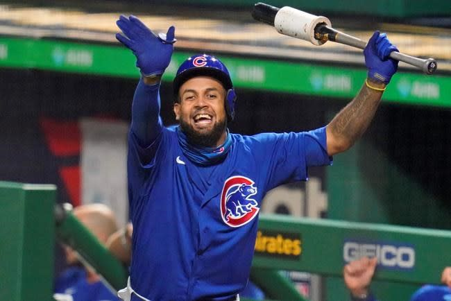 Cubs add Billy Hamilton to roster, send down Martínez