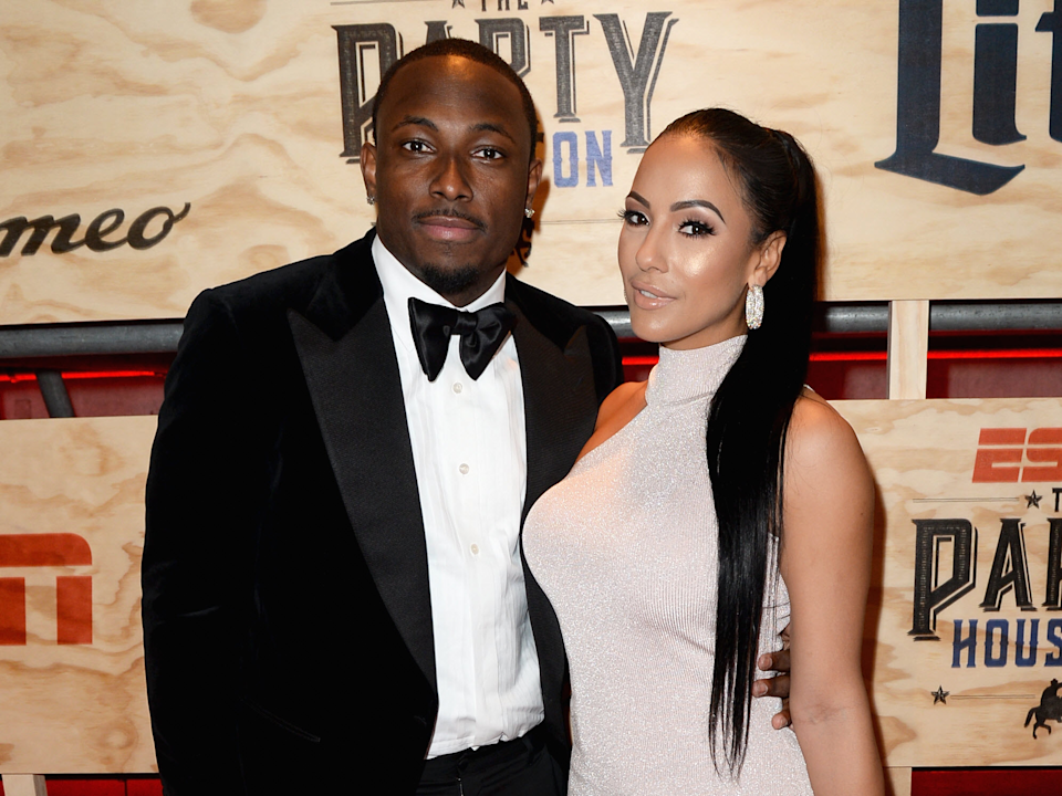 LeSean McCoy and Delicia Cordon have been locked in a domestic dispute for over a year, according to court records. (Getty)