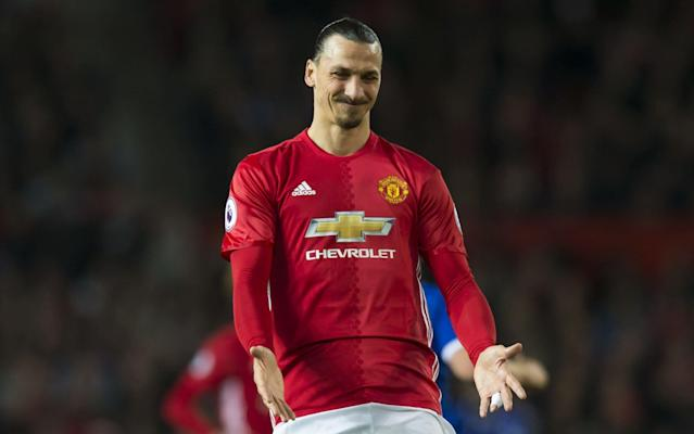 United rely heavily on Ibrahimovic's goals - Rex Features