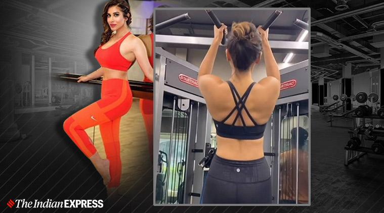 sophie choudry, pilates, fitness