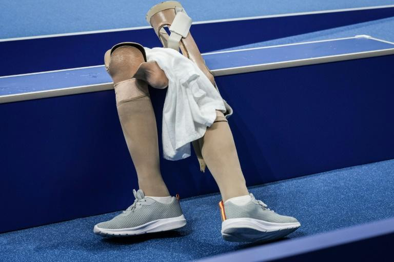 Repair workshops help Paralympians fix prosthetics and other equipment (AFP/Yasuyoshi CHIBA)