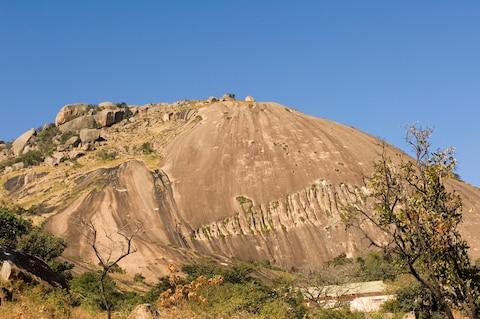 Sibebe, the world's largest granite dome - Credit: getty