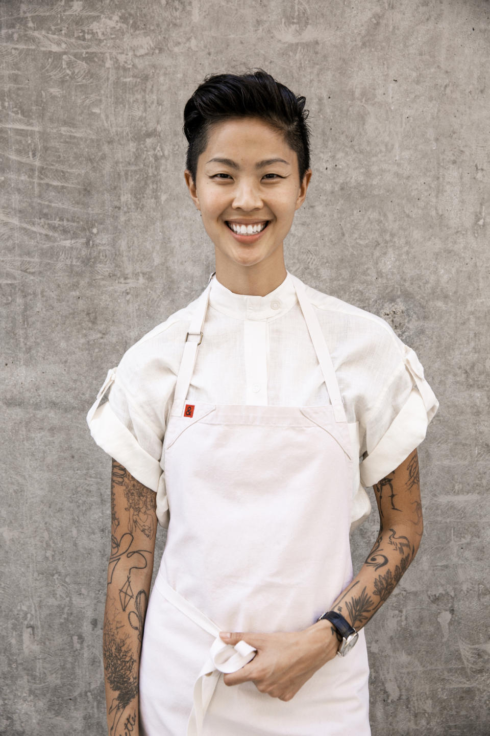 Chef Kristen Kish co-hosts TruTV's