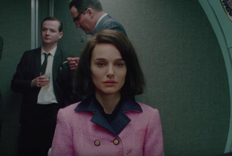 "Here's the story behind Natalie Portman's pink Chanel suit in ""Jackie"""
