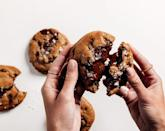 """<p>Dad put in a lot of effort raising you. Return the favor with these highly-coveted, celeb-loved cookies that require you to log on <em>right </em>as they drop in order to secure a box of 12. He might be so impressed that you went the extra mile that hey'll share one with you.</p> <p><strong>Buy It! </strong>Last Crumb cookies (check at 9 AM PST), $117;<a href=""""https://lastcrumb.com/"""" rel=""""nofollow noopener"""" target=""""_blank"""" data-ylk=""""slk:lastcrumb.com"""" class=""""link rapid-noclick-resp""""> lastcrumb.com</a></p>"""