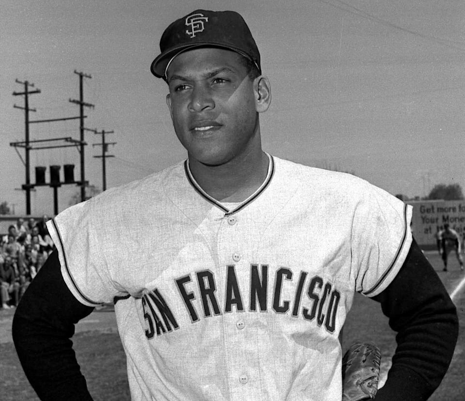 Orlando Cepeda was inducted into the Baseball Hall of Fame in 1999 by the Veteran's Committee.