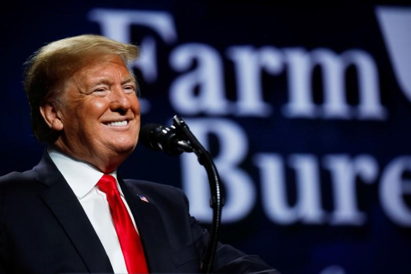 U.S. farmers increased support for Trump ahead of 'Phase 1' signing - Reuters/Ipsos poll