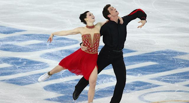 Moir and Virtue deliver in Sochi (Getty Images)
