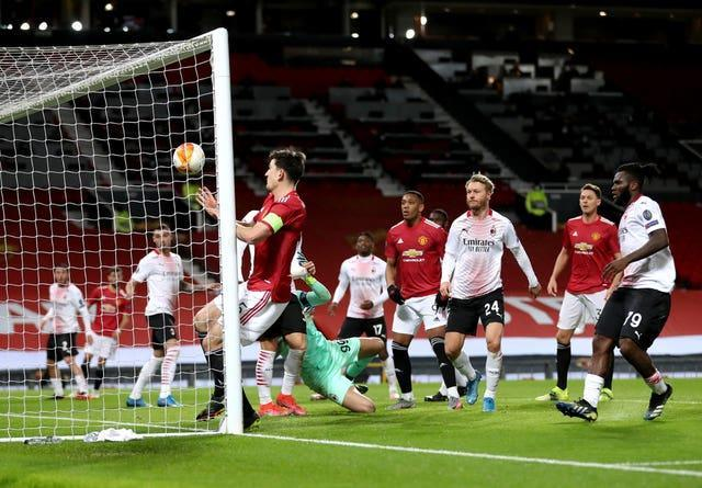 United have been playing behind closed doors at Old Trafford