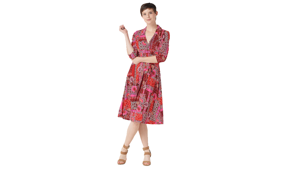 Slim, trim and wear it on a whim! This cutie by Isaac Mizrahi is 46 percent off! (Photo: QVC)