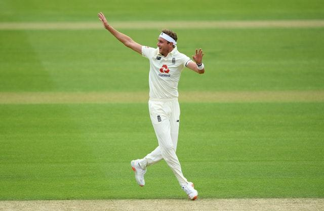 Stuart Broad has taken 485 Test wickets (Stu Forster/Pool/PA)