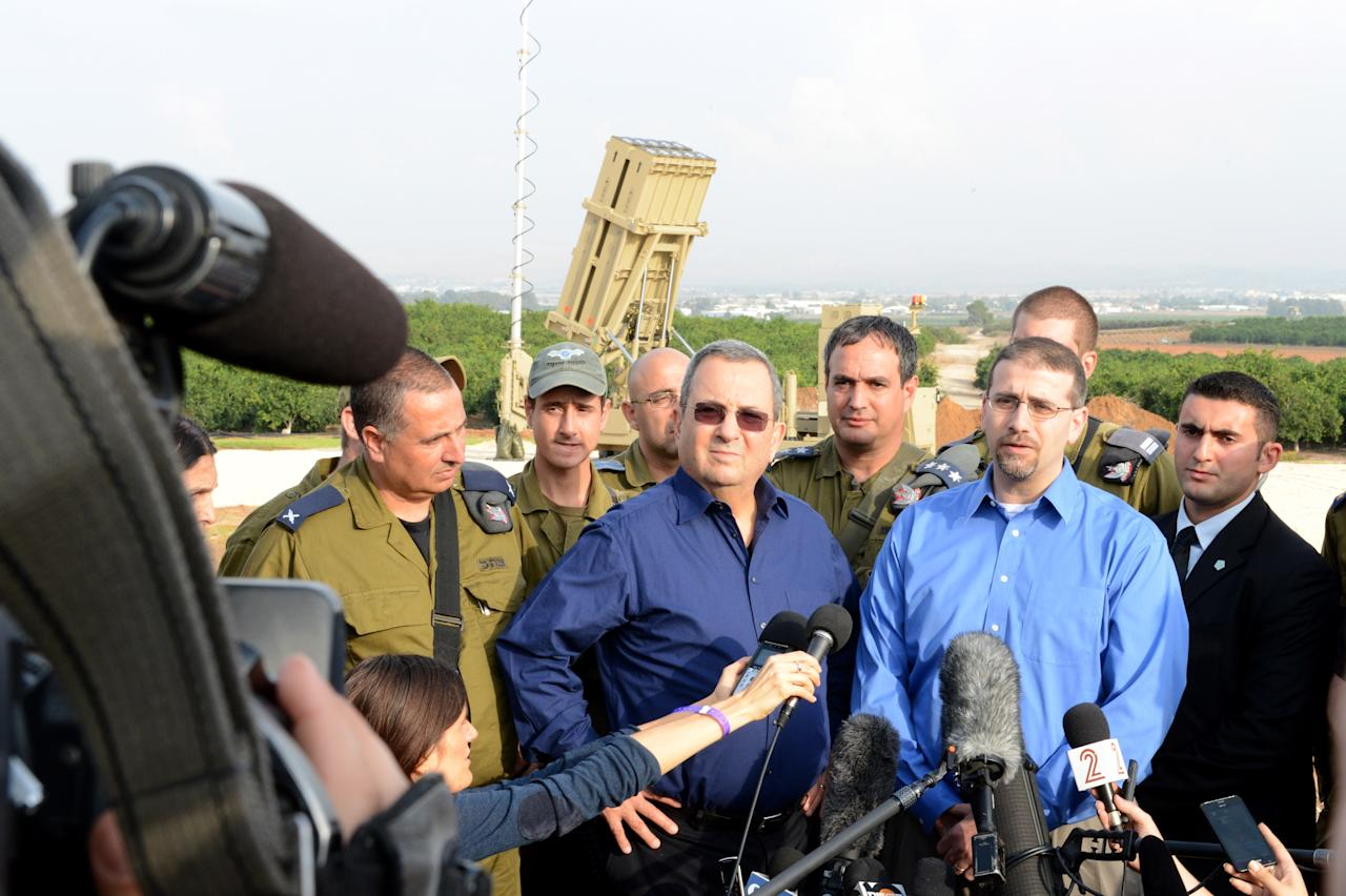 Israel Intercepts Missile Attack On Tel Aviv