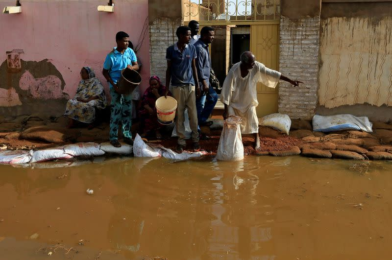 Record floods cause deaths and widespread damage in Sudan