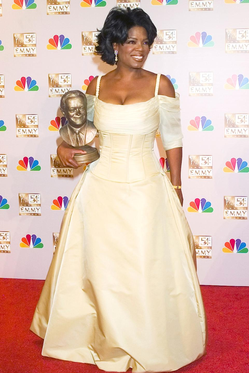"""<h2>Oprah in Bradley Bayou, 2002</h2><span class=""""copyright"""">Photo: Paul Drinkwater/NBCU Photo Bank/NBCUniversal/Getty Images.</span>"""