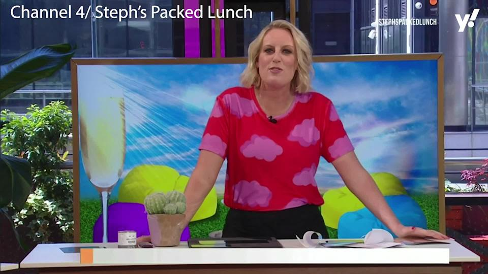Steph McGovern began fronting Channel 4 daytime show 'Steph's Packed Lunch' during the COVID-19 lockdowns in 2020. (Channel 4)