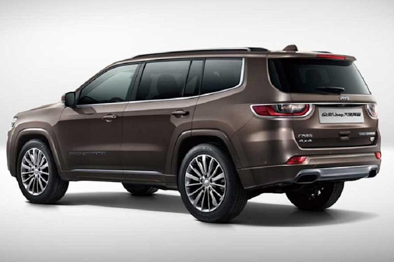 Jeep Grand Commander three-row SUV. (Image: AFP Relaxnews)