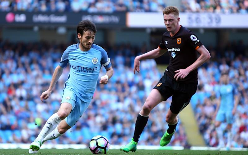 David Silva was imperious for City against Hull on Saturday - EPA