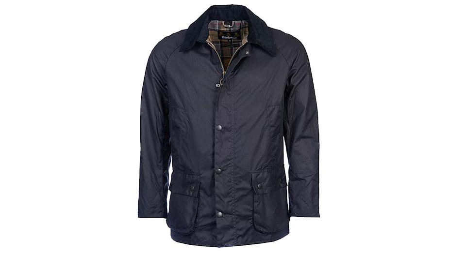 Barbour Lifestyle Ashby Waxed Field Jacket