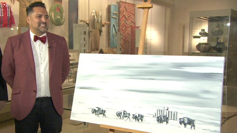 Siksika artist's work to hang in National Gallery of Canada after Governor General's Award