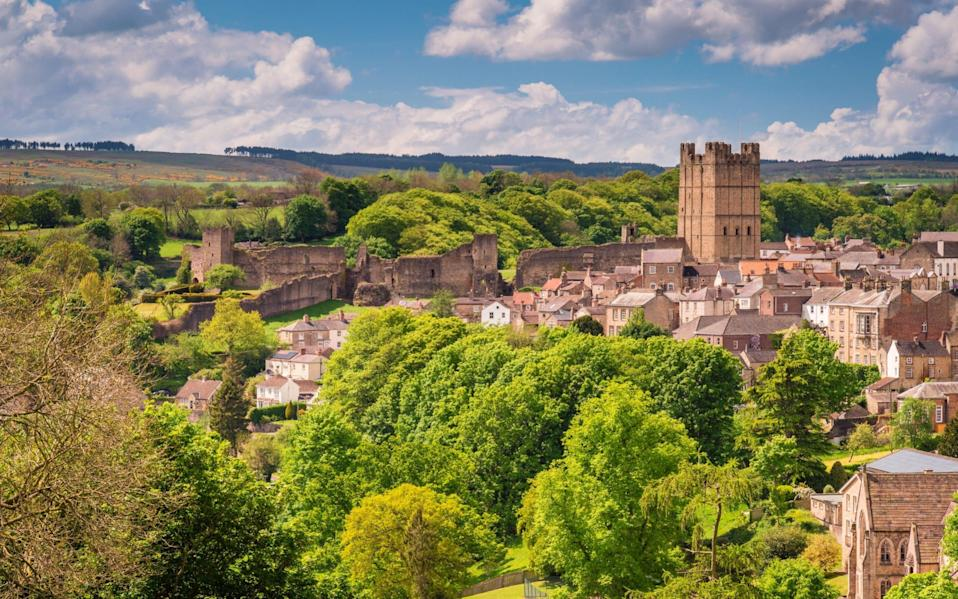 Richmond in Yorkshire is the original Richmond, which has more than 50 namesakes elsewhere in the world - Getty