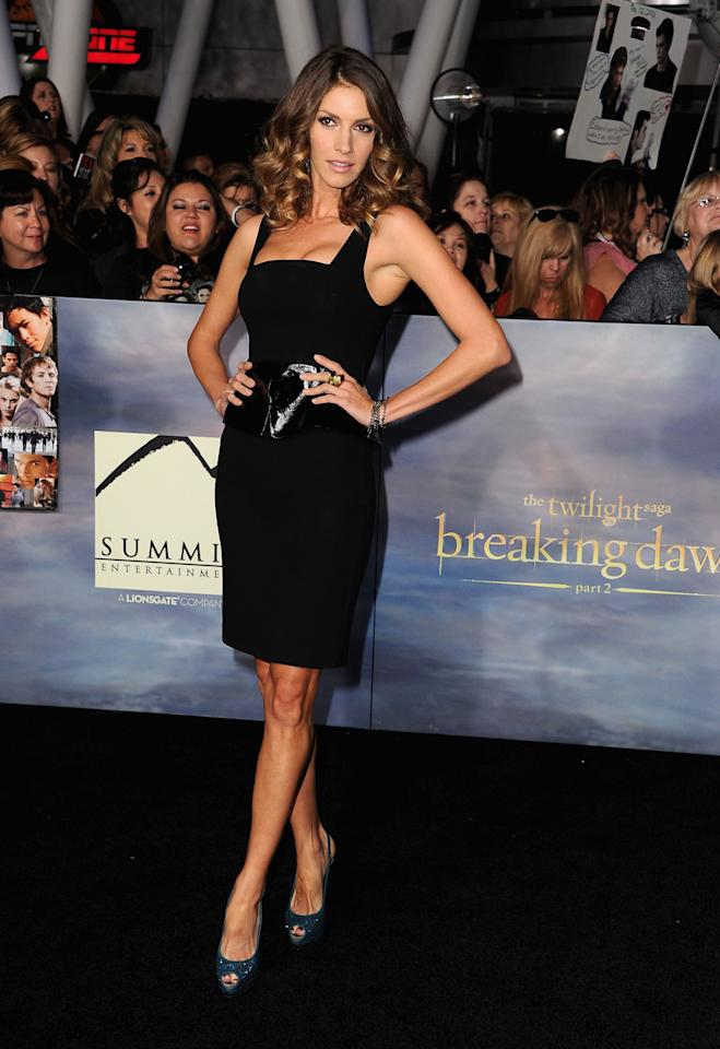 "Dawn Olivieri arrives at ""The Twilight Saga: Breaking Dawn - Part 2"" Los Angeles premiere at Nokia Theatre L.A. Live on November 12, 2012 in Los Angeles, California.  (Photo by Steve Granitz/WireImage)"