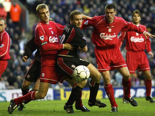 Kevin Davies, Sami Hyypia, Jamie Carragher