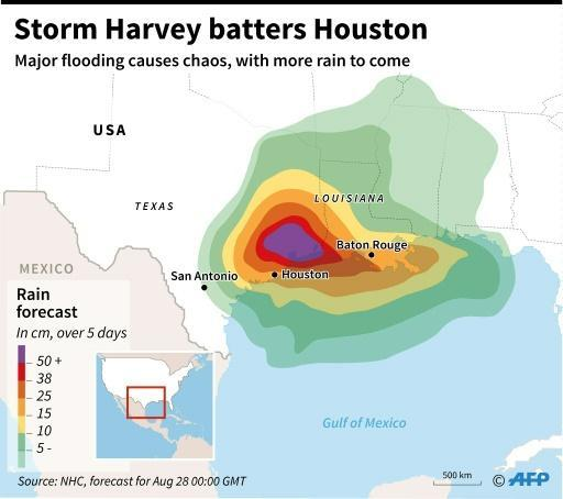 Houston races to rescue flood victims before storm's return
