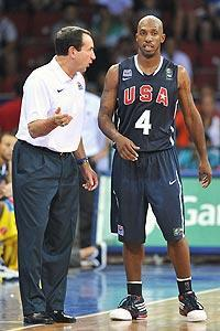 Chauncey Billups has given coach Mike Krzyzewski a mentor for his young team